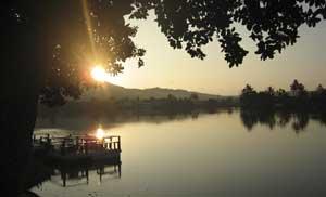 Keep the lake clean.