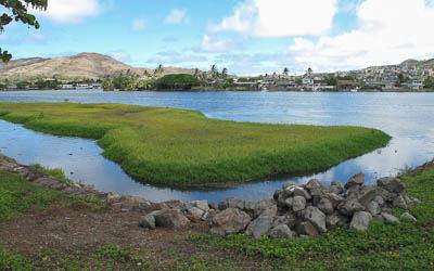 Kukilakila island after dredging